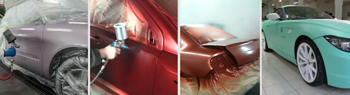 Как правильно покрасить авто показать